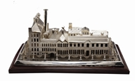 Picture of An exceptionally fantastic commemorative architectural model depicting a textile mill in Bombay