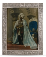 Picture of An exceptionally large & very rare Indian silver photograph frame