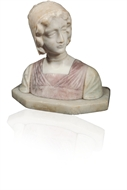 Picture of A VICTORIAN MARBLE BUST