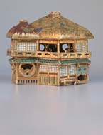 Picture of A ROYAL SATSUMA-WARE COTTAGE