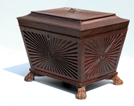 Picture of A ROSEWOOD WINE COOLER