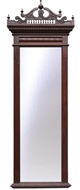 Picture of A ROSEWOOD VICTORIAN STYLE PIER MIRROR