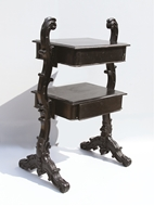 Picture of A WILLIAM IV MAHOGANY DUMBWAITER