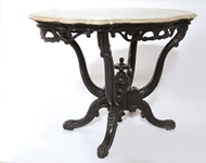 Picture of A VICTORIAN STYLE MAHOGANY CENTRE TABLE