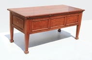 Picture of A VERY FINE VICTORIAN MAHOGANY WINE CABINET OF METAMORPHIC FORM