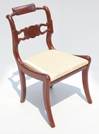 Picture of A SET OF SIX REGENCY ROSEWOOD DINING CHAIRS