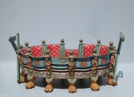 Picture of A WESTERN-INDIA HAND PAINTED TEMPLE PALANQUIN