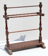 Picture of A TEAKWOOD WALKING STICK STAND
