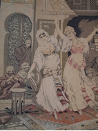 Picture of TAPESTRY  DEPICTING  MIDDLE-EASTERN DANCERS