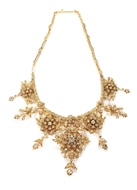 Picture of A VICTORIAN PATTERN GOLD NECKLACE
