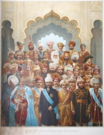 Picture of THE RULING PRINCES OF INDIA, DURING THE DELHI DURBAR