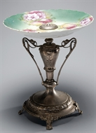 Picture of A CONTINENTAL ART NOUVEAU TAZZA