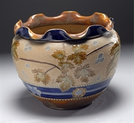 Picture of A DOULTON LAMBETH WARE JARDINIERE