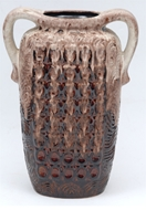 Picture of A LARGE POTTERY VASE WITH DRIP GLAZE