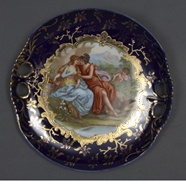 Picture of A VIENNA-STYLE HAND-PAINTED CABINET PLATE