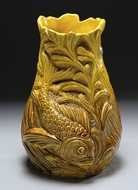 Picture of A CONTINENTAL STONEWARE VASE