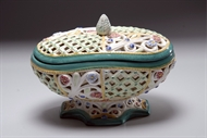 Picture of A CONTINENTAL POTPOURRI BOWL WITH LID