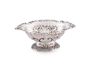 Picture of AN EDWARDIAN SILVER FOOTED BOWL