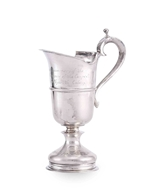 Picture of A COMMEMORATIVE HALLMARKED SILVER CREAM JUG