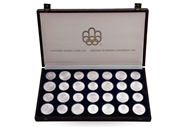 Picture of CANADIAN OLYMPICS 1976, SILVER COINS