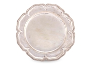 Picture of A FINE SILVER ROUND SERVING DISH