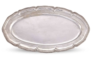 Picture of A FINE SILVER OVAL DISH