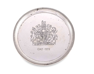 Picture of AN EAST INDIA COMPANY SOUVENIR SILVER PLATE