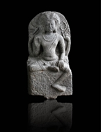 Picture of STONE SCULPTURE OF SHIVA IN LALITASANA