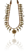Picture of AN ATTRACTIVE pukhraj (TOPAZ) AND ENAMEL NECKLACE