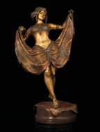 Picture of AN ELABORATELY DESIGNED ART DECO STYLE SCULPTURE