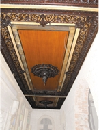 Picture of CARVED WOODEN CEILING