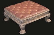 Picture of Indian silver ceremonial settee