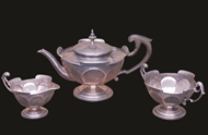 Picture of Hallmarked Silver tea set (lot 11)
